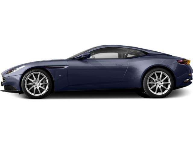 Midnight Blue 2018 Aston Martin DB11 Pictures DB11 2 Door Coupe V12 photos side view
