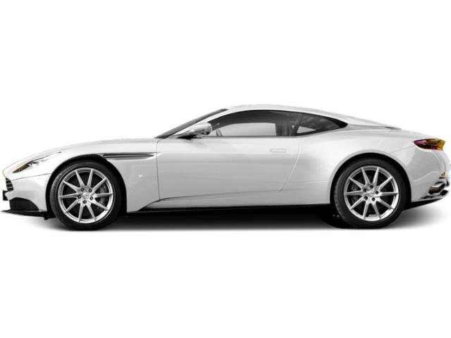 Morning Frost White 2018 Aston Martin DB11 Pictures DB11 2 Door Coupe V8 photos side view