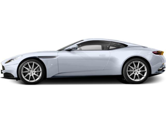 Skyfall Silver 2018 Aston Martin DB11 Pictures DB11 2 Door Coupe V8 photos side view