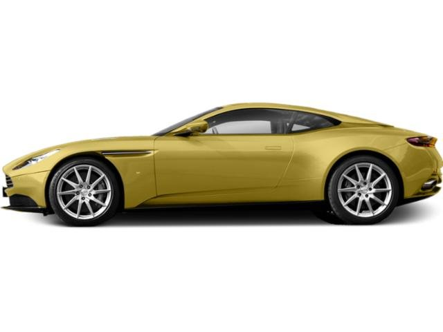 Yellow Tang 2018 Aston Martin DB11 Pictures DB11 2 Door Coupe V8 photos side view