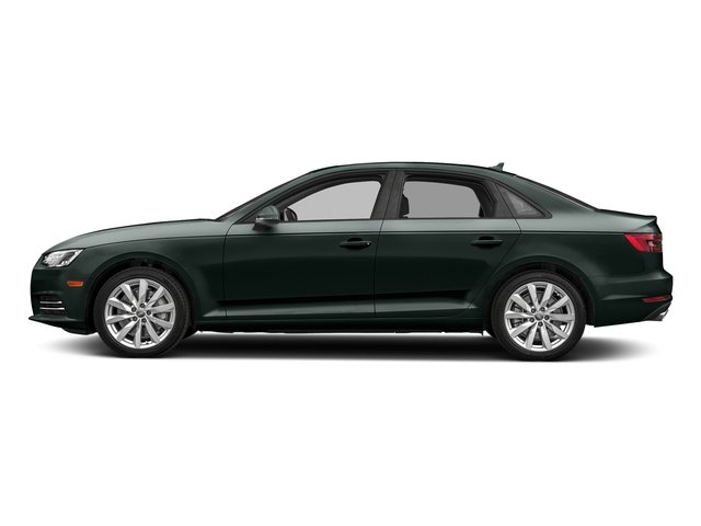Gotland Green Metallic 2018 Audi A4 Pictures A4 2.0 TFSI Tech Premium Plus Manual quattro AWD photos side view