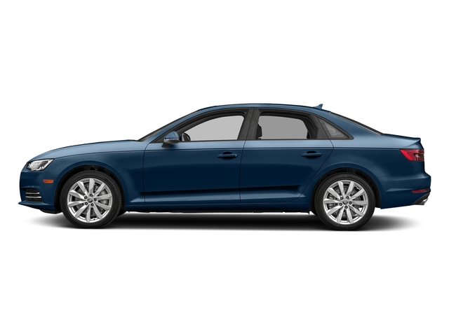 Scuba Blue Metallic 2018 Audi A4 Pictures A4 2.0 TFSI Premium Plus Manual quattro AWD photos side view