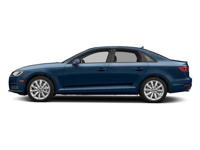 Scuba Blue Metallic 2018 Audi A4 Pictures A4 2.0 TFSI Tech Premium Plus Manual quattro AWD photos side view