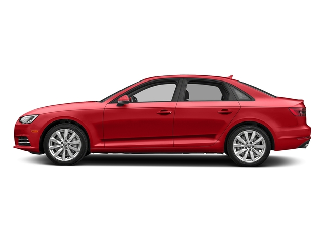 Matador Red Metallic 2018 Audi A4 Pictures A4 2.0 TFSI Tech Premium Plus Manual quattro AWD photos side view