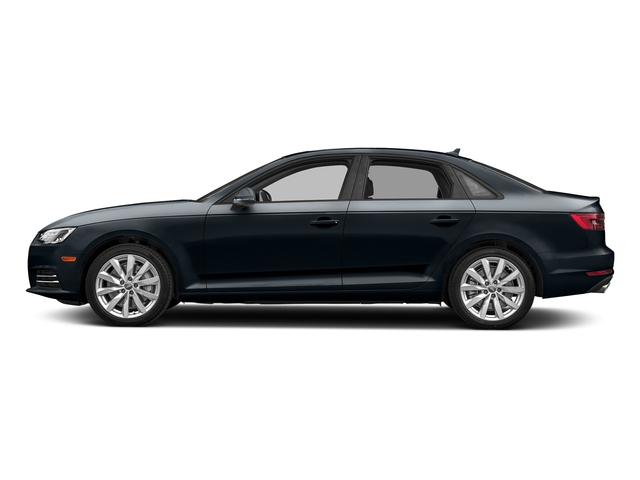 Moonlight Blue Metallic 2018 Audi A4 Pictures A4 2.0 TFSI Premium Plus Manual quattro AWD photos side view