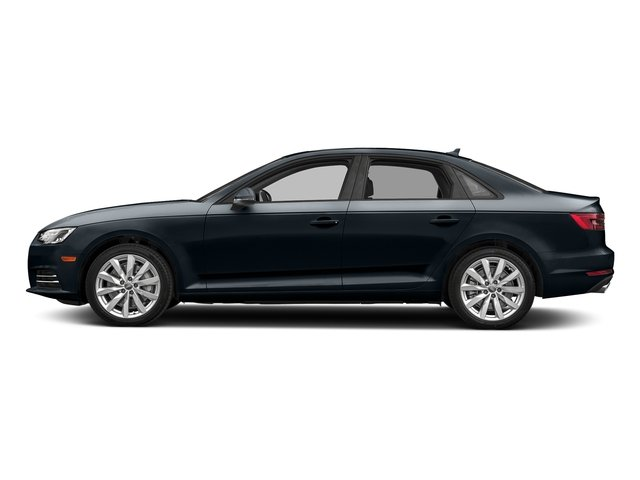 Moonlight Blue Metallic 2018 Audi A4 Pictures A4 2.0 TFSI Tech Premium Plus Manual quattro AWD photos side view