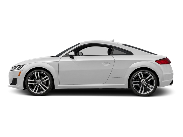 Glacier White Metallic 2018 Audi TT Coupe Pictures TT Coupe 2.0 TFSI photos side view