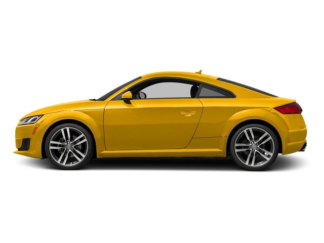 Vegas Yellow 2018 Audi TT Coupe Pictures TT Coupe 2.0 TFSI photos side view