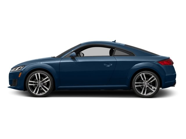 Scuba Blue Metallic 2018 Audi TT Coupe Pictures TT Coupe 2.0 TFSI photos side view