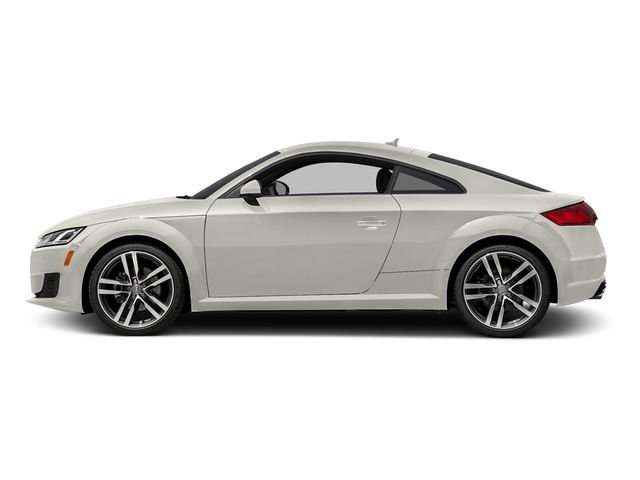 Ibis White 2018 Audi TT Coupe Pictures TT Coupe 2.0 TFSI photos side view