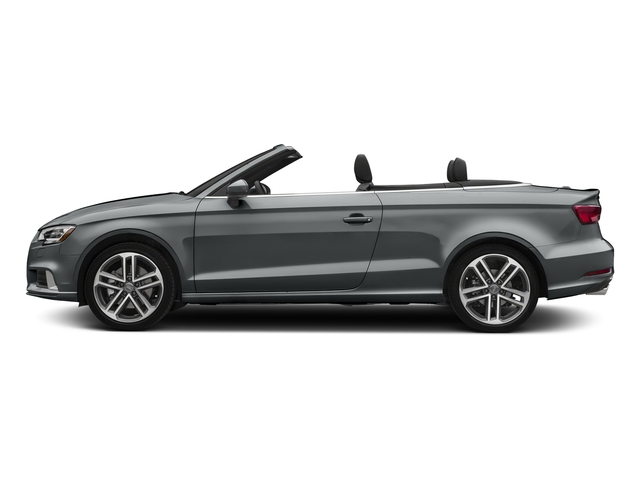 Monsoon Gray Metallic/Black Roof 2018 Audi A3 Cabriolet Pictures A3 Cabriolet 2.0 TFSI Premium quattro AWD photos side view
