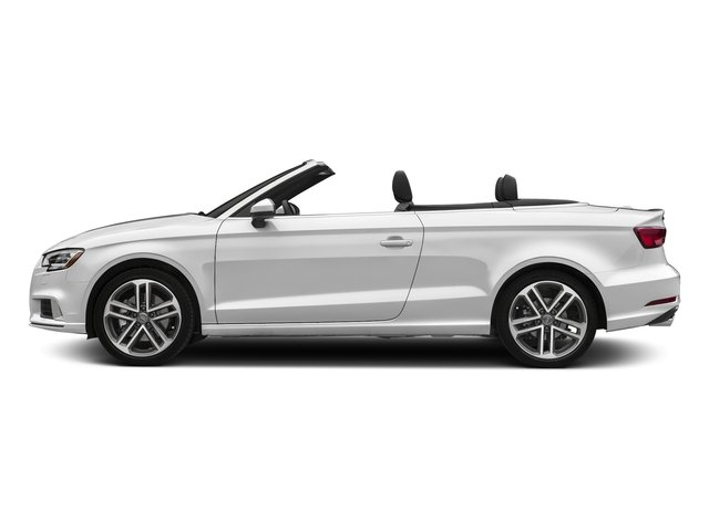 Glacier White Metallic/Black Roof 2018 Audi A3 Cabriolet Pictures A3 Cabriolet 2.0 TFSI Premium quattro AWD photos side view