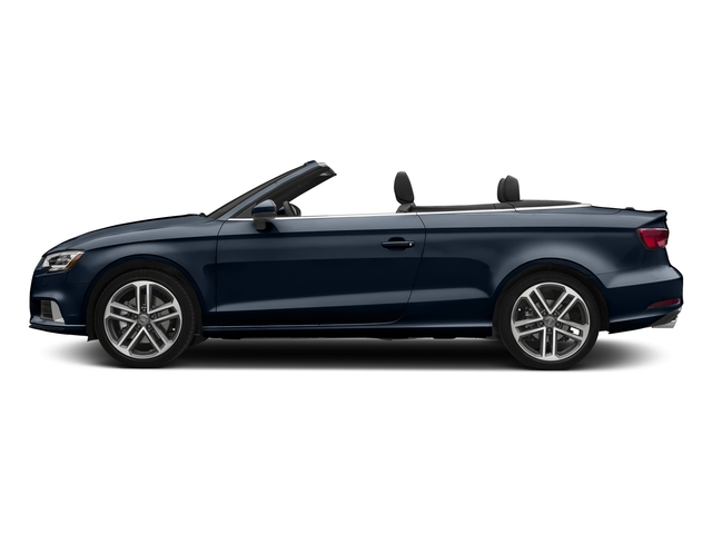 Cosmos Blue Metallic/Black Roof 2018 Audi A3 Cabriolet Pictures A3 Cabriolet 2.0 TFSI Premium quattro AWD photos side view