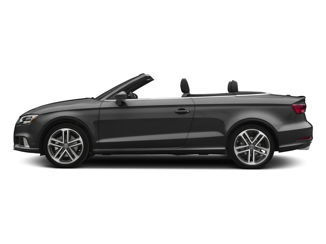 Nano Gray Metallic/Black Roof 2018 Audi A3 Cabriolet Pictures A3 Cabriolet 2.0 TFSI Premium quattro AWD photos side view