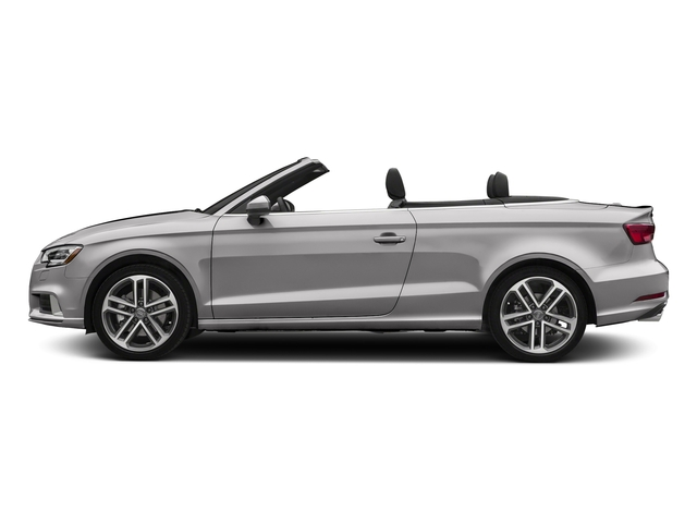 Florett Silver Metallic/Black Roof 2018 Audi A3 Cabriolet Pictures A3 Cabriolet 2.0 TFSI Premium quattro AWD photos side view