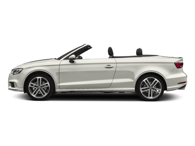 Ibis White/Black Roof 2018 Audi A3 Cabriolet Pictures A3 Cabriolet 2.0 TFSI Premium quattro AWD photos side view