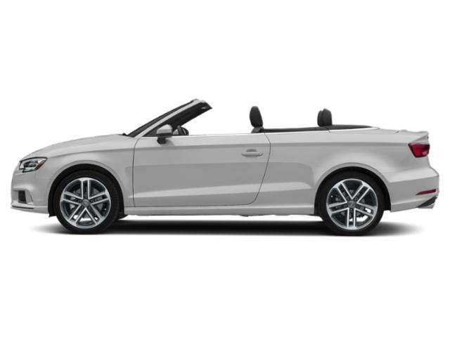 Glacier White Metallic/Black Roof 2018 Audi A3 Cabriolet Pictures A3 Cabriolet 2.0 TFSI Prestige quattro AWD photos side view