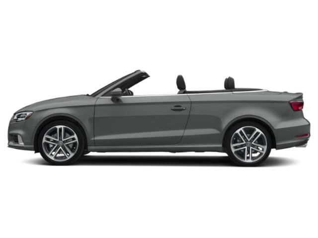 Monsoon Gray Metallic/Black Roof 2018 Audi A3 Cabriolet Pictures A3 Cabriolet 2.0 TFSI Prestige quattro AWD photos side view