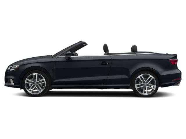 Cosmos Blue Metallic/Black Roof 2018 Audi A3 Cabriolet Pictures A3 Cabriolet 2.0 TFSI Prestige quattro AWD photos side view