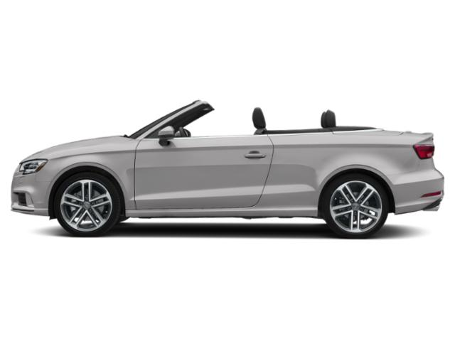 Florett Silver Metallic/Black Roof 2018 Audi A3 Cabriolet Pictures A3 Cabriolet 2.0 TFSI Prestige FWD photos side view