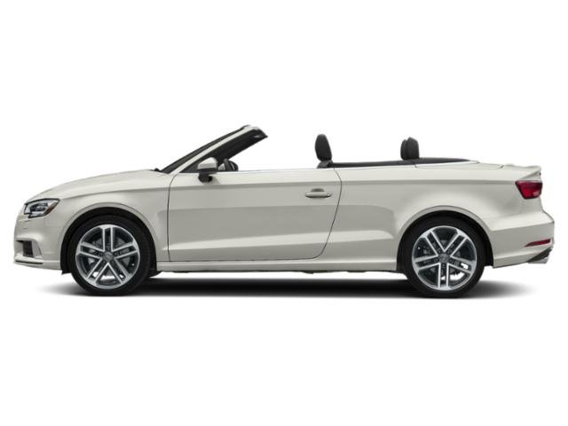 Ibis White/Black Roof 2018 Audi A3 Cabriolet Pictures A3 Cabriolet 2.0 TFSI Prestige FWD photos side view