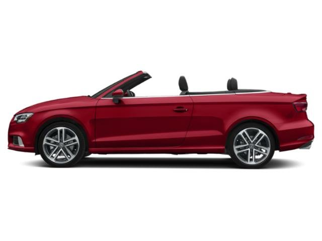 Tango Red Metallic/Black Roof 2018 Audi A3 Cabriolet Pictures A3 Cabriolet 2.0 TFSI Prestige quattro AWD photos side view