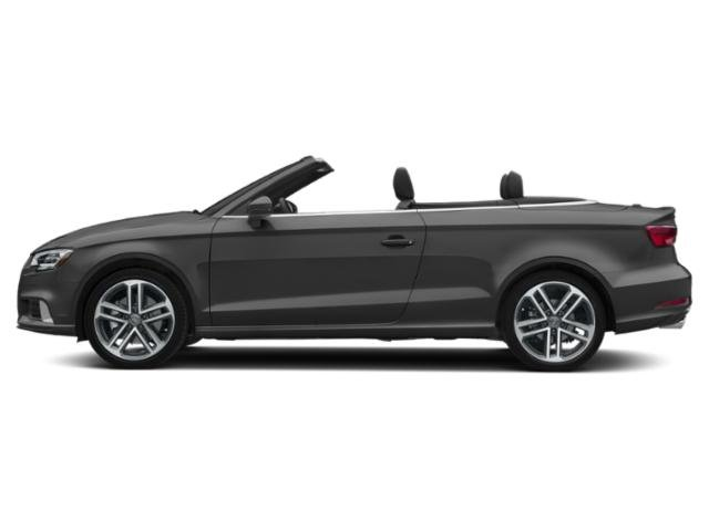 Nano Gray Metallic/Black Roof 2018 Audi A3 Cabriolet Pictures A3 Cabriolet 2.0 TFSI Prestige quattro AWD photos side view
