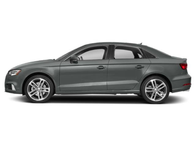 Monsoon Gray Metallic 2018 Audi A3 Sedan Pictures A3 Sedan 2.0 TFSI Prestige FWD photos side view