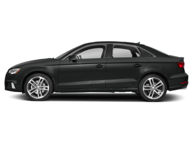 Mythos Black Metallic 2018 Audi A3 Sedan Pictures A3 Sedan 2.0 TFSI Premium quattro AWD photos side view