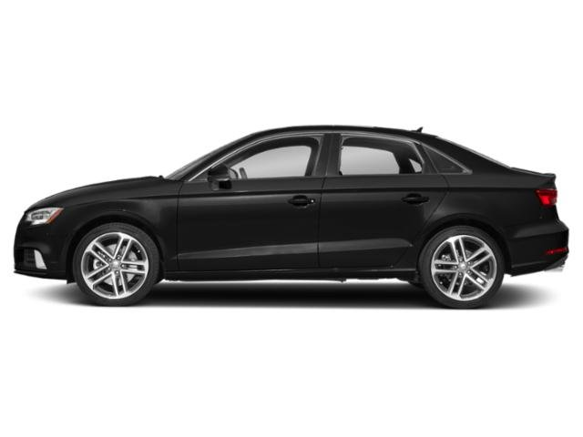 Brilliant Black 2018 Audi A3 Sedan Pictures A3 Sedan 2.0 TFSI Premium quattro AWD photos side view