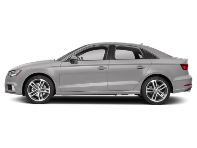 Florett Silver Metallic 2018 Audi A3 Sedan Pictures A3 Sedan 2.0 TFSI Premium quattro AWD photos side view