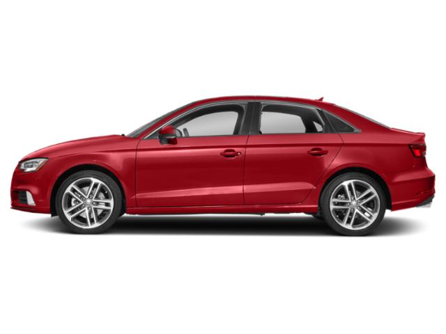 Tango Red Metallic 2018 Audi A3 Sedan Pictures A3 Sedan 2.0 TFSI Prestige FWD photos side view