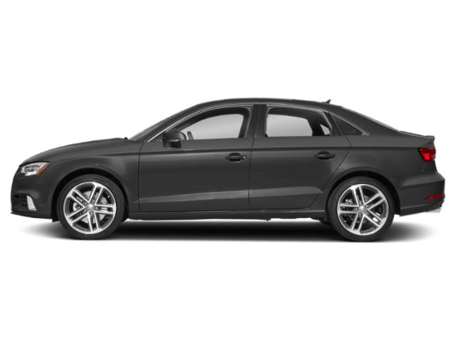Nano Gray Metallic 2018 Audi A3 Sedan Pictures A3 Sedan 2.0 TFSI Premium quattro AWD photos side view
