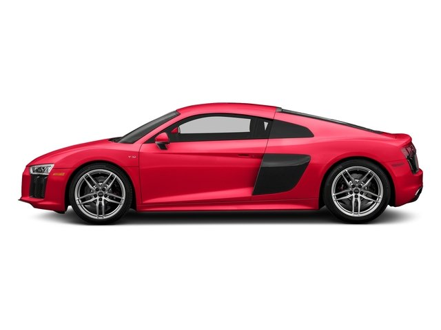 Dynamite Red 2018 Audi R8 Coupe Pictures R8 Coupe V10 quattro AWD photos side view
