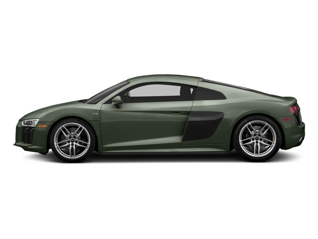 Camouflage Green Metallic 2018 Audi R8 Coupe Pictures R8 Coupe V10 quattro AWD photos side view