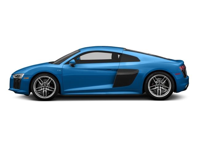Ara Blue Crystal Effect 2018 Audi R8 Coupe Pictures R8 Coupe V10 quattro AWD photos side view