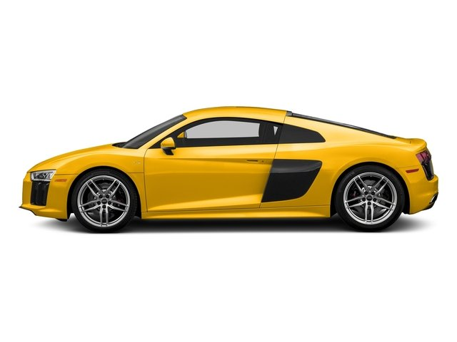 Vegas Yellow 2018 Audi R8 Coupe Pictures R8 Coupe V10 quattro AWD photos side view