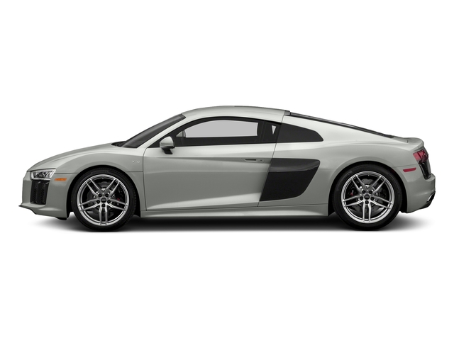 Suzuka Gray Metallic 2018 Audi R8 Coupe Pictures R8 Coupe V10 quattro AWD photos side view