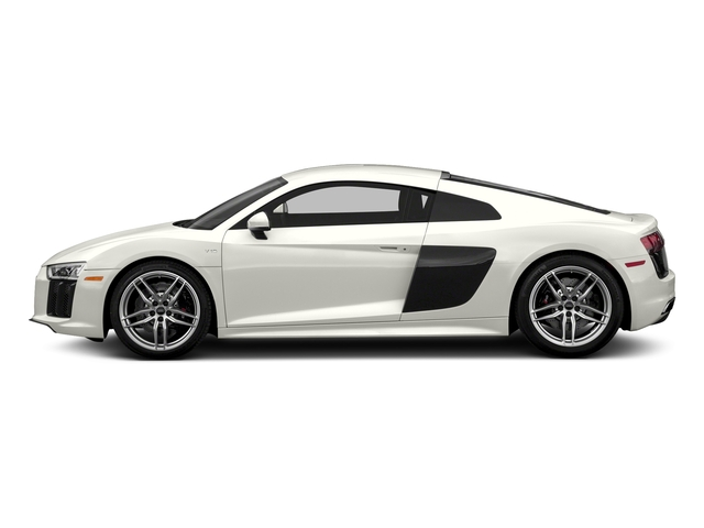 Ibis White 2018 Audi R8 Coupe Pictures R8 Coupe V10 quattro AWD photos side view