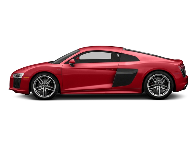 Tango Red Metallic 2018 Audi R8 Coupe Pictures R8 Coupe V10 quattro AWD photos side view