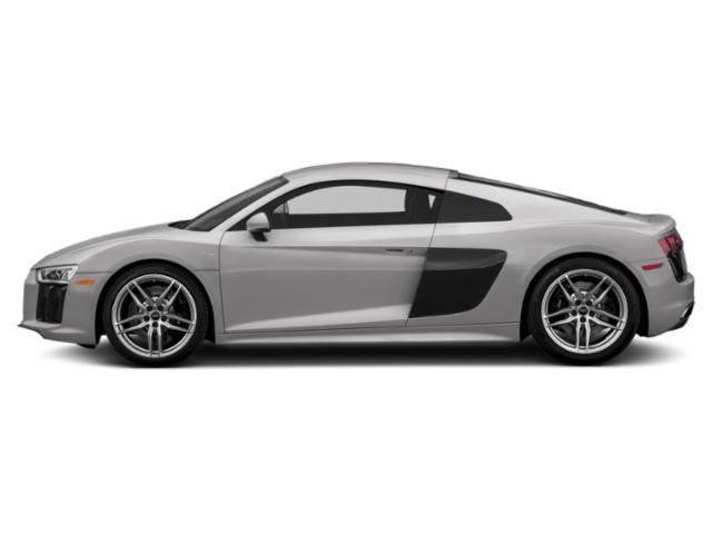 Florett Silver Metallic 2018 Audi R8 Coupe Pictures R8 Coupe V10 RWD photos side view