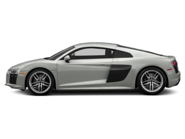 Suzuka Gray Metallic 2018 Audi R8 Coupe Pictures R8 Coupe V10 RWD photos side view