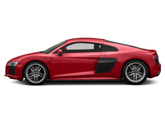 Tango Red Metallic 2018 Audi R8 Coupe Pictures R8 Coupe V10 RWD photos side view