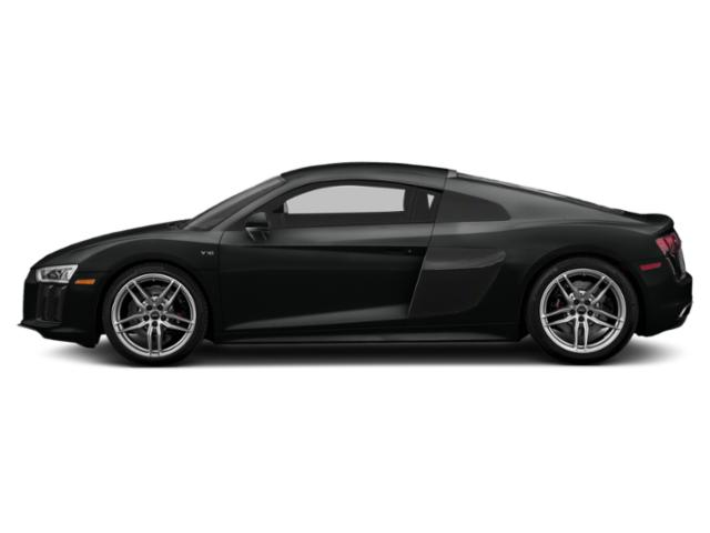 Mythos Black Metallic 2018 Audi R8 Coupe Pictures R8 Coupe V10 RWD photos side view