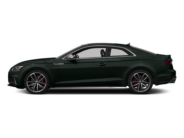 Gotland Green Metallic 2018 Audi S5 Coupe Pictures S5 Coupe 3.0 TFSI Prestige photos side view