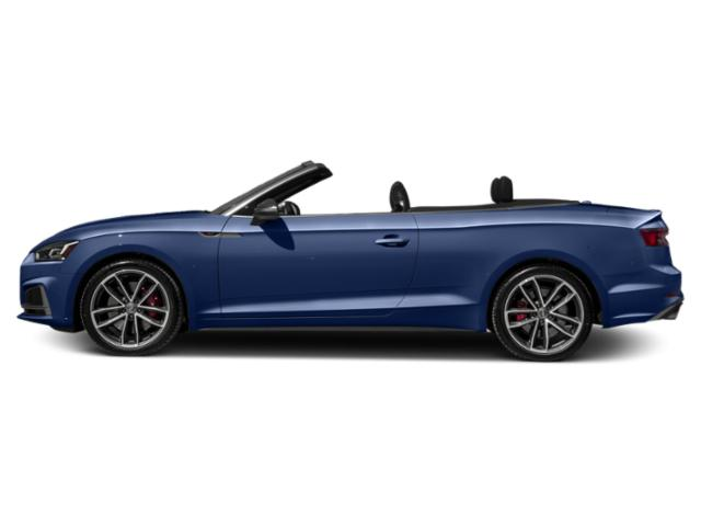 Navarra Blue Metallic/Black Roof 2018 Audi S5 Cabriolet Pictures S5 Cabriolet 3.0 TFSI Prestige photos side view