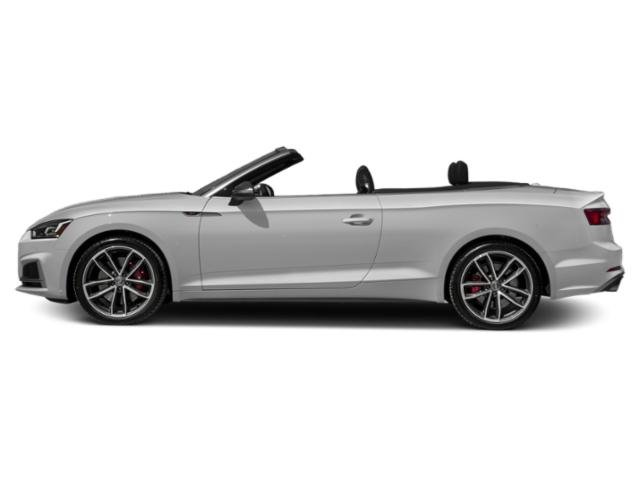 Glacier White Metallic/Black Roof 2018 Audi S5 Cabriolet Pictures S5 Cabriolet 3.0 TFSI Prestige photos side view