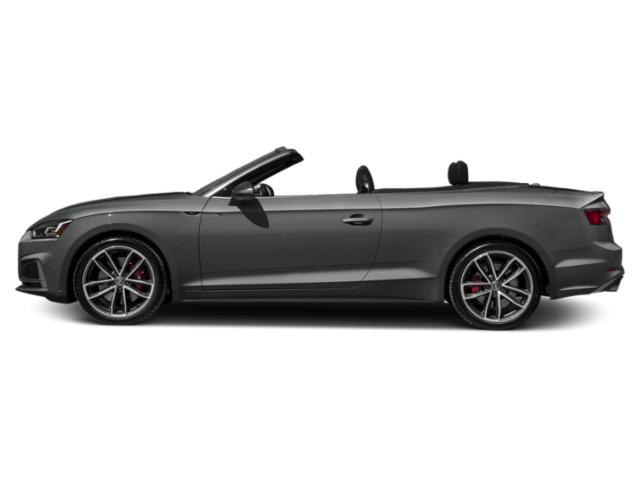 Daytona Gray Pearl Effect/Black Roof 2018 Audi S5 Cabriolet Pictures S5 Cabriolet 3.0 TFSI Prestige photos side view