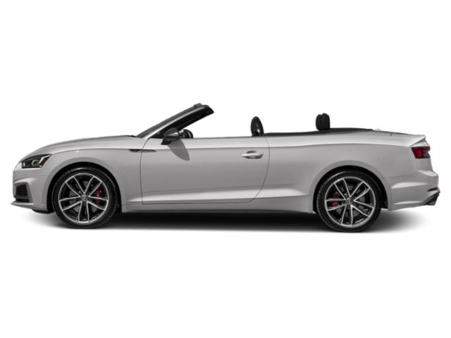 Florett Silver Metallic/Black Roof 2018 Audi S5 Cabriolet Pictures S5 Cabriolet 3.0 TFSI Prestige photos side view
