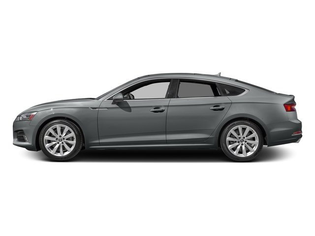Monsoon Gray Metallic 2018 Audi A5 Sportback Pictures A5 Sportback 2.0 TFSI Premium Plus photos side view